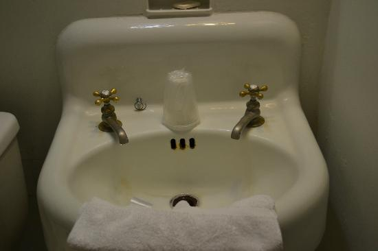 Penn Wells Hotel & Lodge: Sink