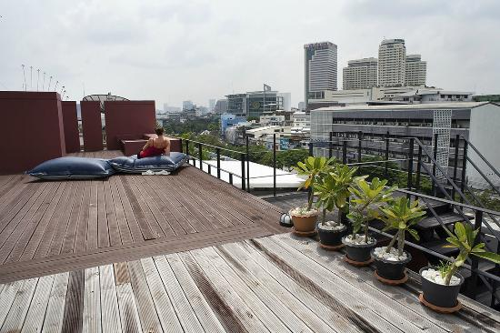 Loog Choob Homestay: terrace