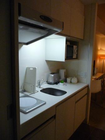 Citadines Karasuma-Gojo Kyoto: Inner kitchen