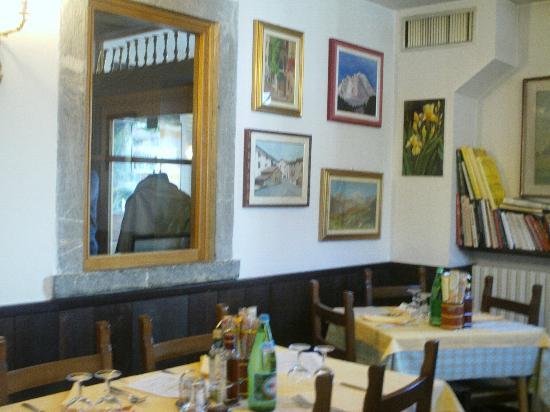 Antico Ristorante Drago : Saletta interna