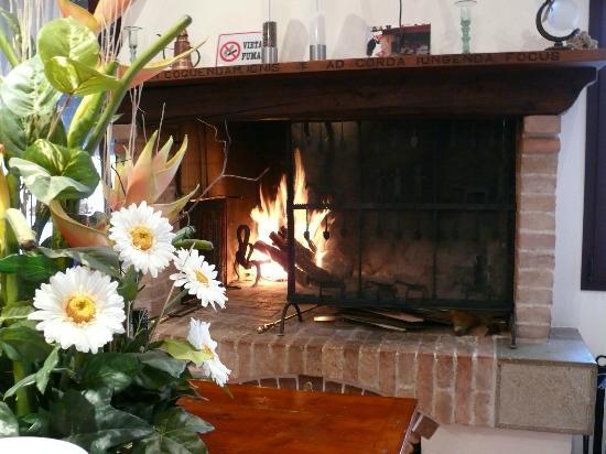 Conselve, Italy: Quì cuciniamo la carne