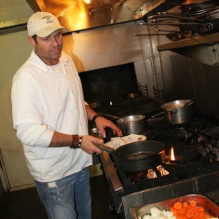 Grady's Line Camp Steakhouse: Grady in the kitchen