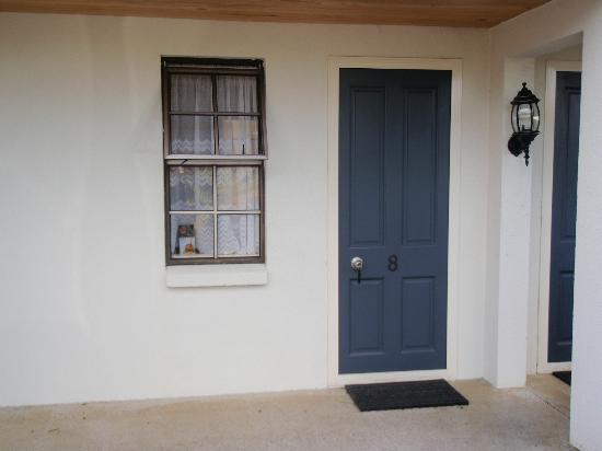 Victoria Lodge: porte chambre