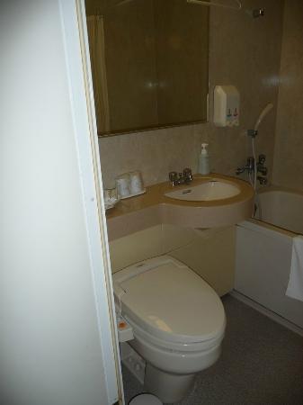 Garden Hotel Kanazawa : Toilet