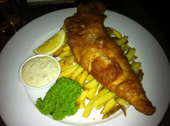 Boheme: Fish and chips