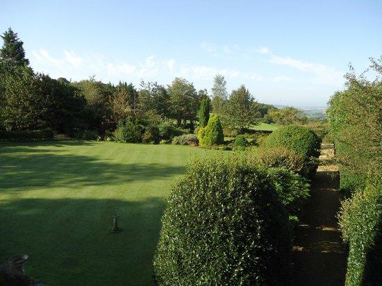 Rudloe Arms : The lovely gardens of Rudloe Hall Hotel
