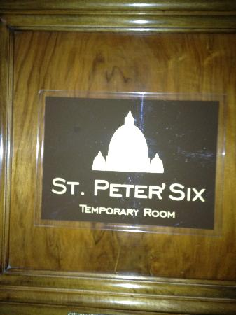 St. Peter' Six Rooms & Suites: EXCELLENT HOTEL