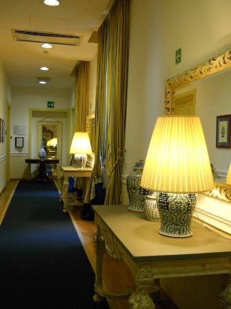 Palazzo Ruspoli: le couloir