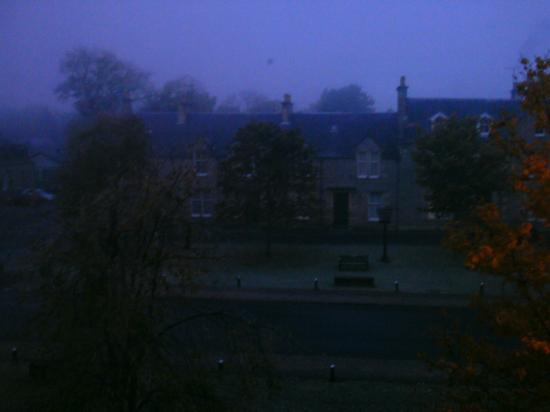 Grant Arms Hotel: view from room 209 at dawn