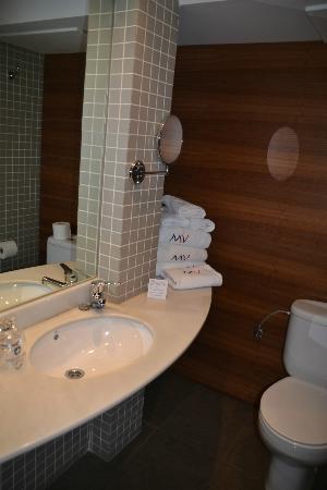 Hotel Marques de Vallejo : Baño