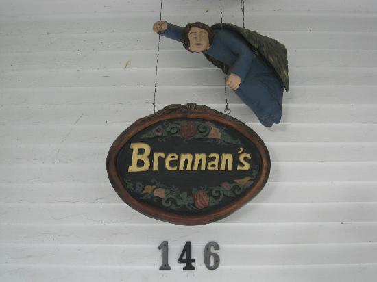 Brennan's Bed & Breakfast: Entrance to Brennan's