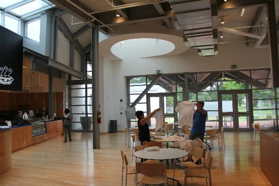 Ohr-O'Keefe Museum of Art: Coffee shop cafe space
