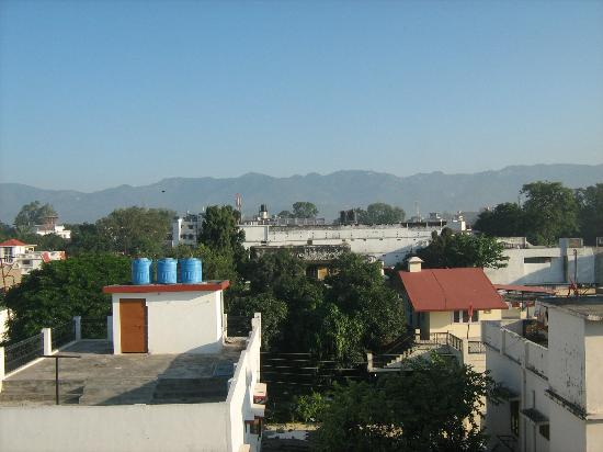 Hotel Gomti Residency: view from hotel roof