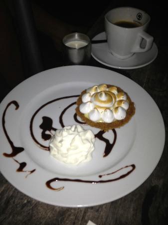 Cooper Island Beach Club Restaurant: World's best Key Lime Pie