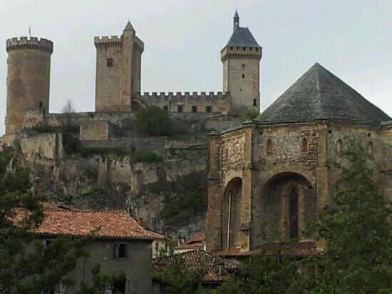 Phoebus Restaurant : Vista del castillo desde terraza