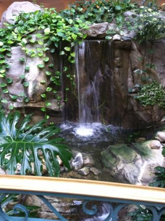 Embassy Suites by Hilton Anaheim North: the waterfall