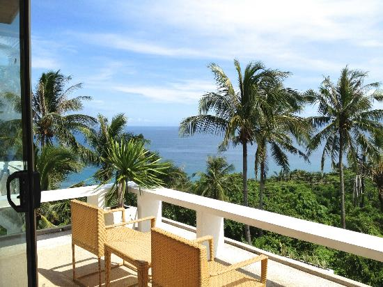 Amihan Villa: Our view from the balcony