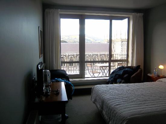 The Brothers Boutique Hotel: View from middle of room