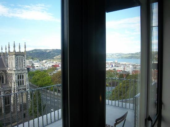 The Brothers Boutique Hotel: view from room
