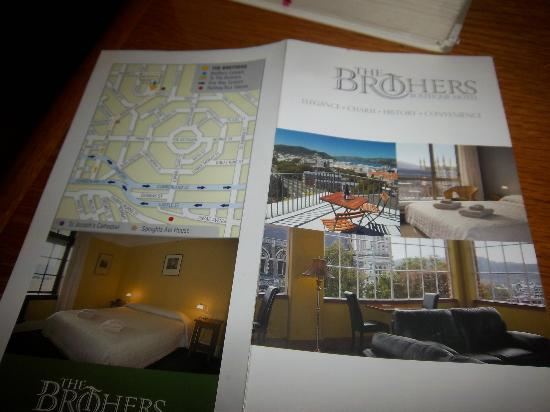 The Brothers Boutique Hotel : brochure