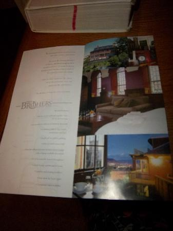The Brothers Boutique Hotel : brochure2