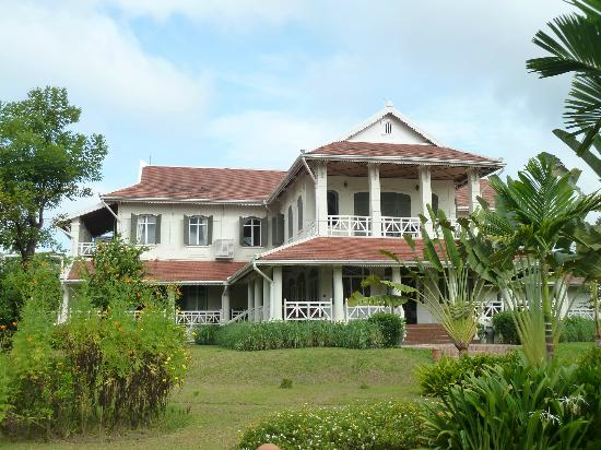 The Luang Say Residence: The back of the hotel