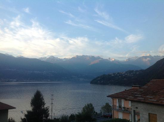 Locanda Dell'Era: View of the lake from behind hotel