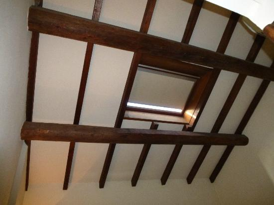 Skylight in room
