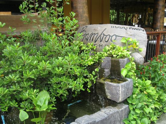 Bamboo House Phuket: entrance to the restaurant