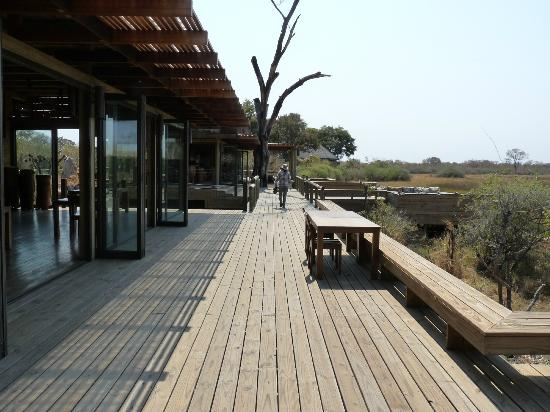 Wilderness Safaris Vumbura Plains Camp: Common area