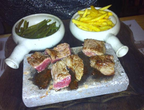 Auberge de la Halle: Entrecote of beef