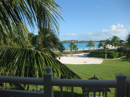 Sandals Emerald Bay Golf, Tennis and Spa Resort: The view from our third story room
