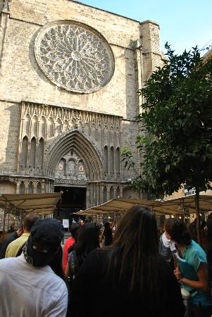 Runner Bean Tours Barcelona: A nossa guia de azul!