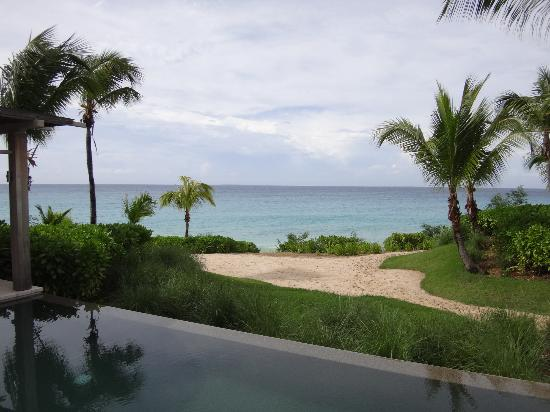 Four Seasons Resort and Residences Anguilla: View from back of villa.