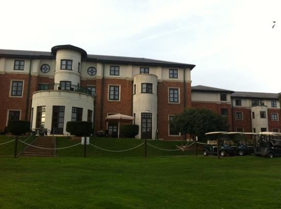 Hilton Puckrup Hall, Tewkesbury: view from golf course