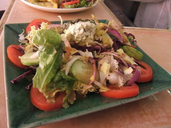 La Gourmandine : de belles salades copieuses