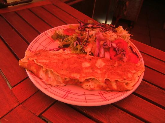 La Gourmandine : des omelettes géantes et délicieuse