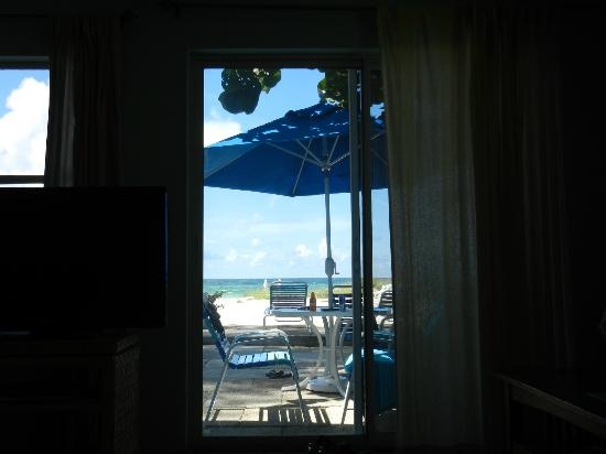 Sailfish Beach Resort: view from living room
