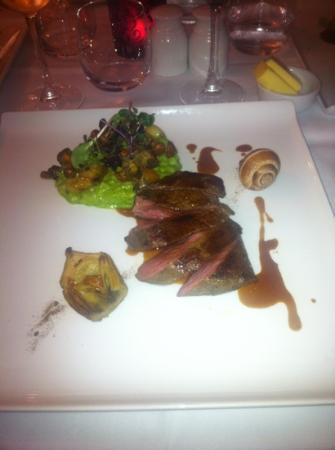 The Inn at Grinshill: blade steak - fabulous