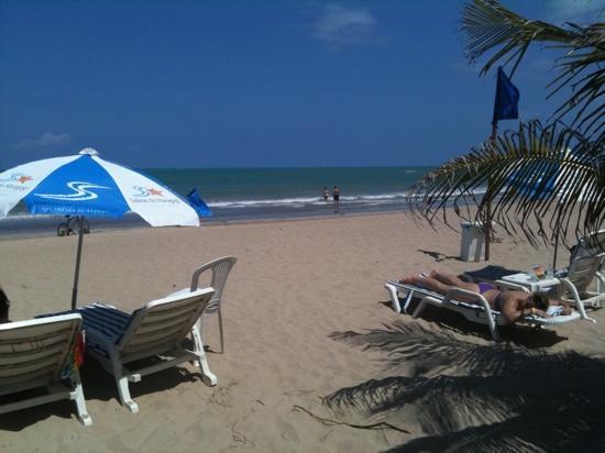 Salinas do Maragogi All Inclusive Resort: o visual da praia é maravilhoso