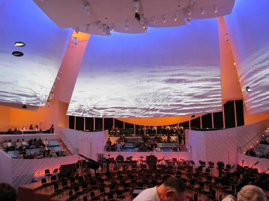 New World Symphony: This is in their hall -- they project onto these large wall surfaces