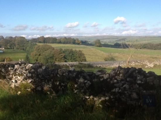 Hargate Hall: The view from the back road