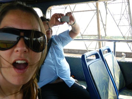 La Cautiva Lodge: aca estamos de excursion con Cristian, el taxista del hotel!!!