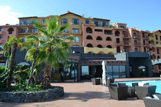 Hotel Santa Tecla Palace: vu coté mer