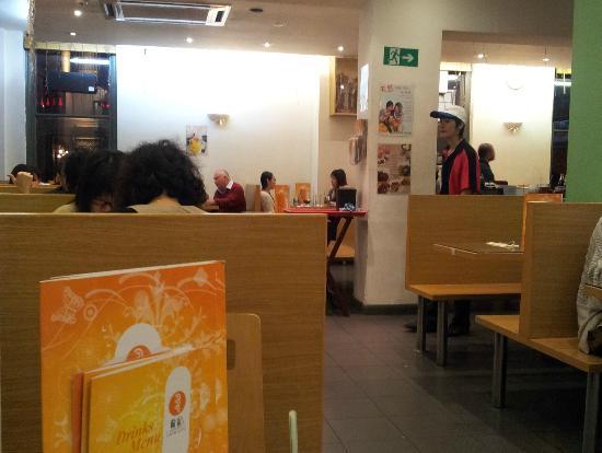 Cafe de Hong Kong: 2nd floor Interior