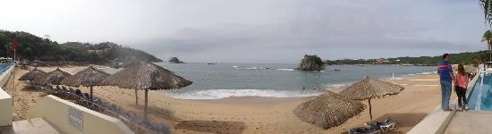 Dreams Huatulco Resort & Spa: Panoramic view of the bay