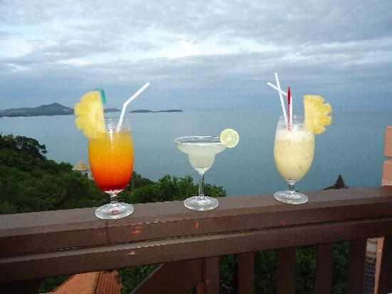 Samui Bayview Resort & Spa: cocktails