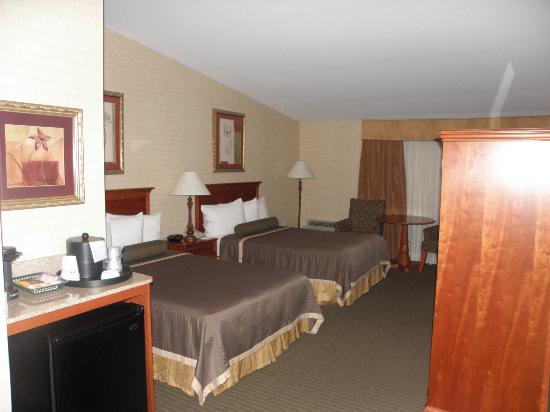 BEST WESTERN PLUS The Inn at King of Prussia: Our double room