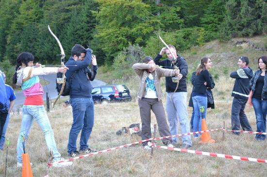 Pension Speranta: Archery