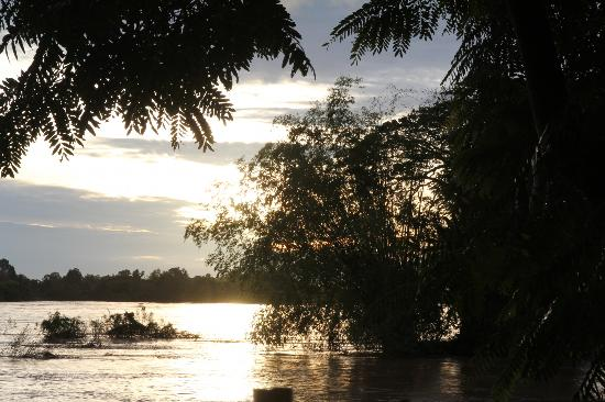Don Det, Laos: mekong sunrise